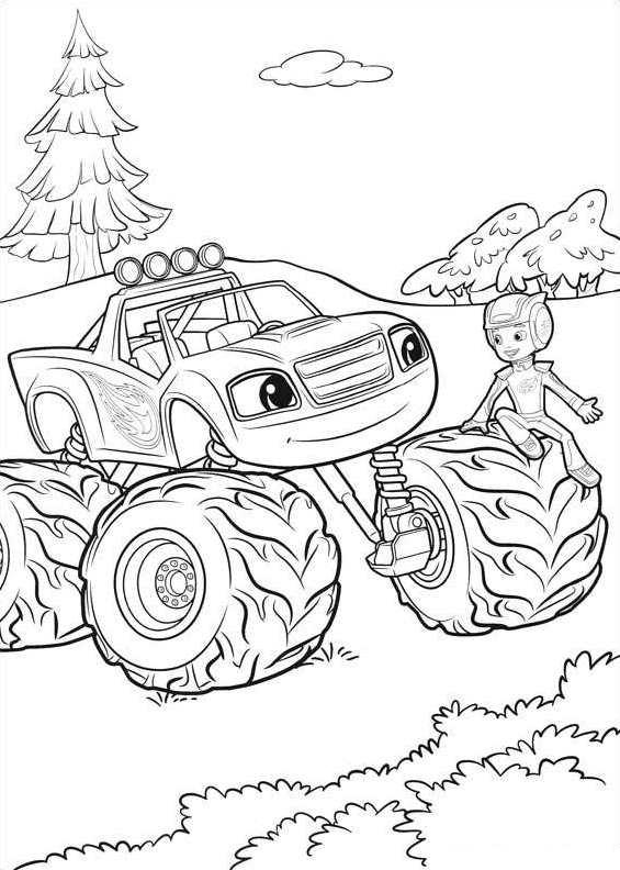 Cars Vrachtwagen Kleurplaat Kids N Fun Nieuwe Kleurplaten