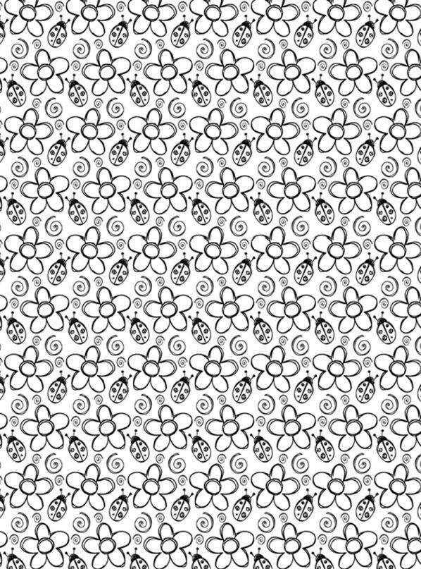 kleurplaten volwassen bloemen