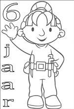 Kleurplaat Verjaardagstaart 6 Jaar Kids N Fun 79 Kleurplaten Van Verjaardag