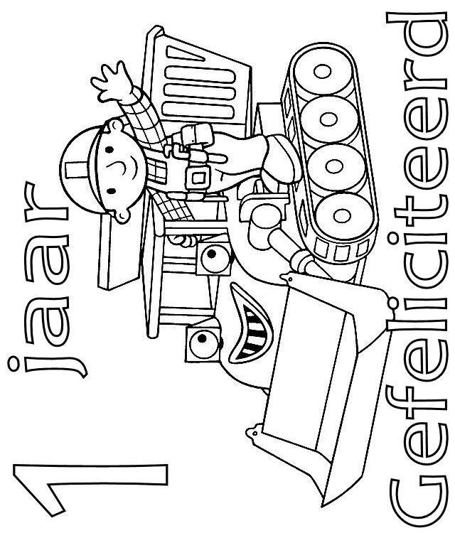 Kids N Fun 77 Kleurplaten Van Verjaardag