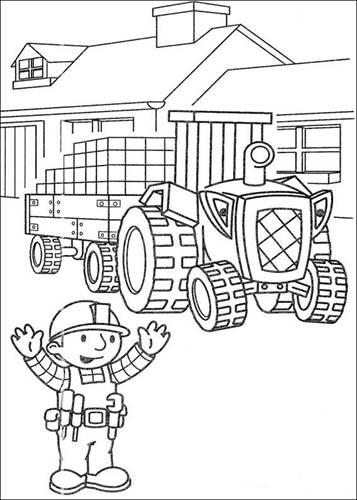 Kleurplaten Printen Bob De Bouwer.Kids N Fun 87 Kleurplaten Van Bob De Bouwer