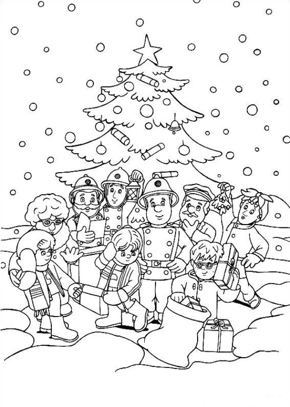 Kids N Fun 48 Kleurplaten Van Kerstmis