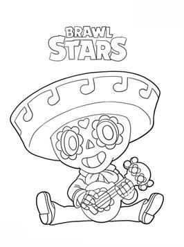 Kids N Fun 26 Kleurplaten Van Brawl Stars