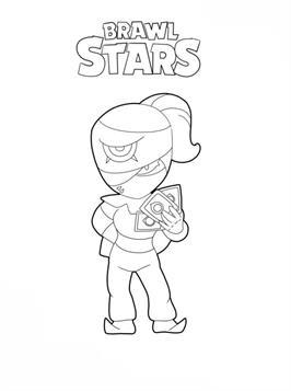 Leuke Kleurplaten Minions Kids N Fun 26 Kleurplaten Van Brawl Stars