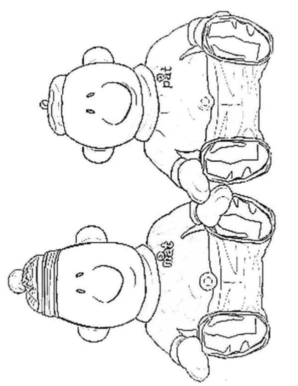 Favoriete Kids-n-fun   9 Kleurplaten van Buurman en Buurman &IW84
