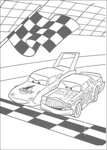 Kleurplaten A4 Cars.Kids N Fun 84 Kleurplaten Van Cars Pixar