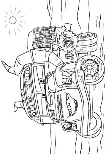 Kleurplaten Cars 3.Kids N Fun 11 Kleurplaten Van Cars 3