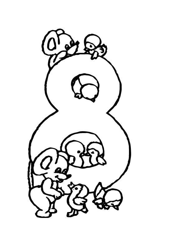 Leuke Kleurplaten Kerst Kids N Fun 10 Kleurplaten Van Cijfers