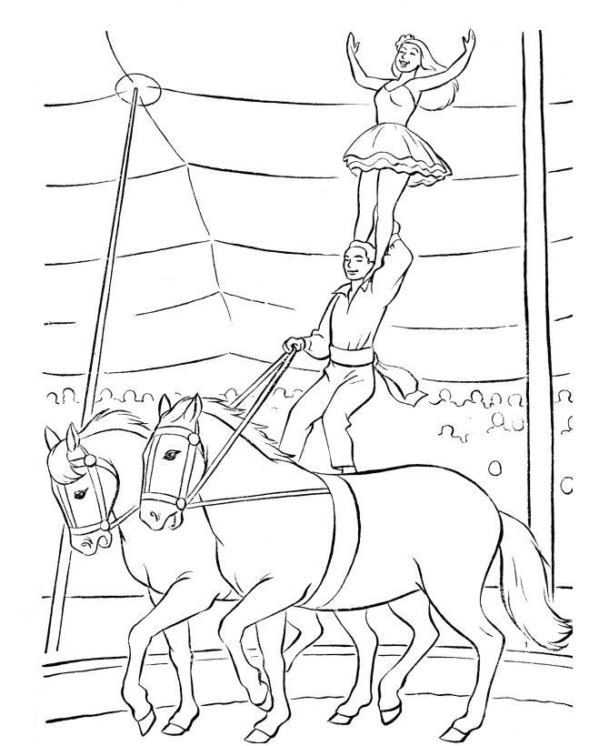 Kids N Fun Kleurplaten Paarden Kids N Fun 39 Kleurplaten Van Circus