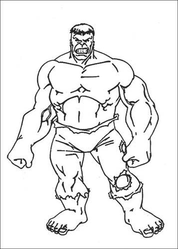 Kleurplaten De Hulk.Kids N Fun 77 Kleurplaten Van Hulk