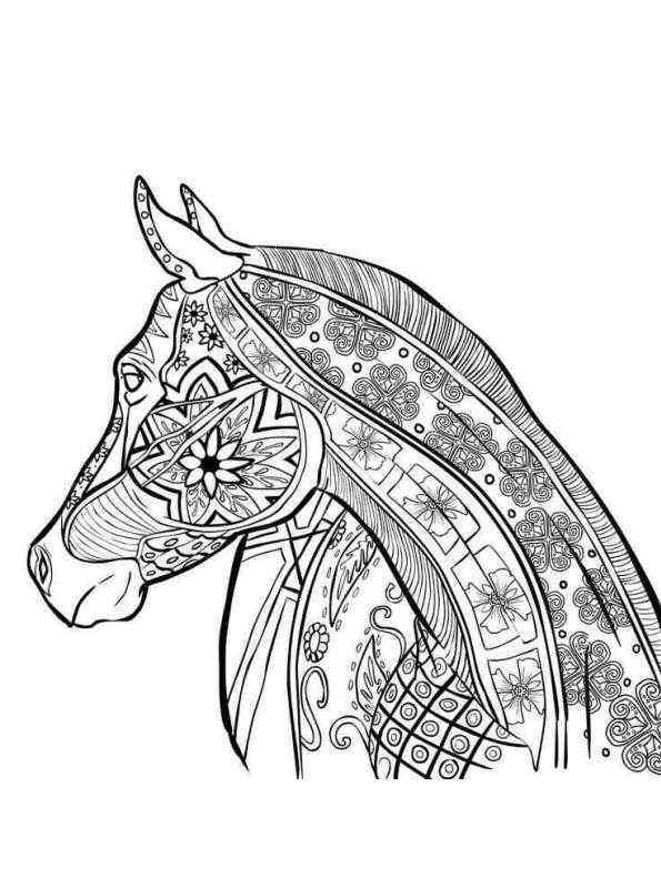 pretty animals coloring pages - photo#22