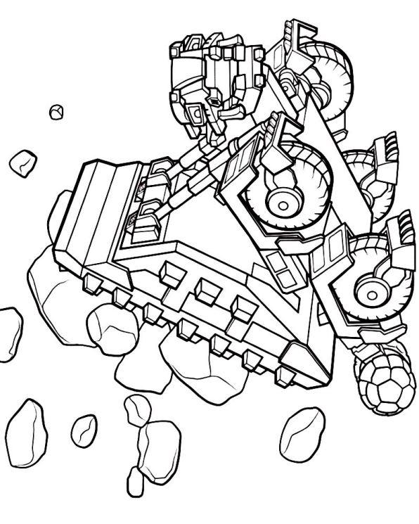 Kids N Fun 7 Kleurplaten Van Dinotrux