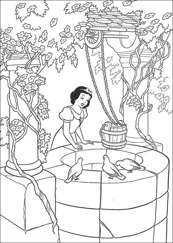 Kids N Fun 33 Kleurplaten Van Disney Prinsessen