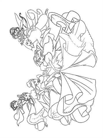 Gratis Kleurplaten Disney Prinsessen.Kids N Fun 33 Kleurplaten Van Disney Prinsessen