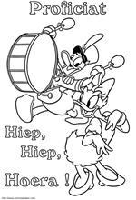 Kwik Kwak Kwek Kleurplaat Kids N Fun 30 Kleurplaten Van Donald Duck