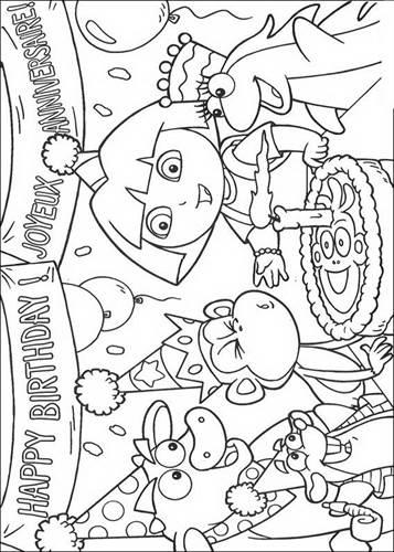 Kleurplaten Dora Prinses.Kids N Fun 84 Kleurplaten Van Dora De Verkenner