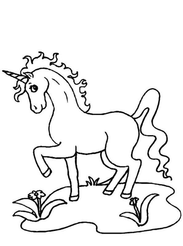 Kleurplaten Emoji Unicorn.Kleurplaat Emoji Unicorn