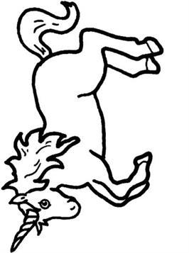 Kleurplaten Unicorn.Kids N Fun 37 Kleurplaten Van Eenhoorn