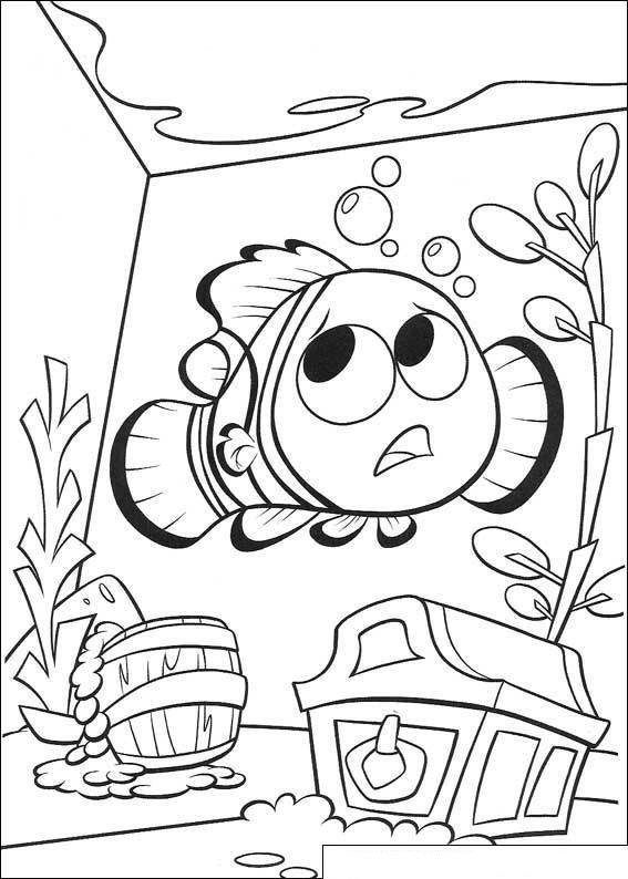 Kids N Fun 65 Kleurplaten Van Finding Nemo De Film