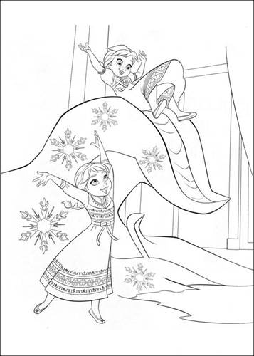 Kleurplaten Frozen Printen.Kids N Fun 35 Kleurplaten Van Frozen