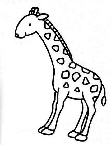 Kleurplaten Van Giraffen.Kids N Fun 45 Kleurplaten Van Giraffe