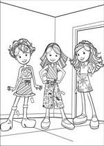 Kleurplaat Modeshow Kids N Fun 65 Kleurplaten Van Groovy Girls