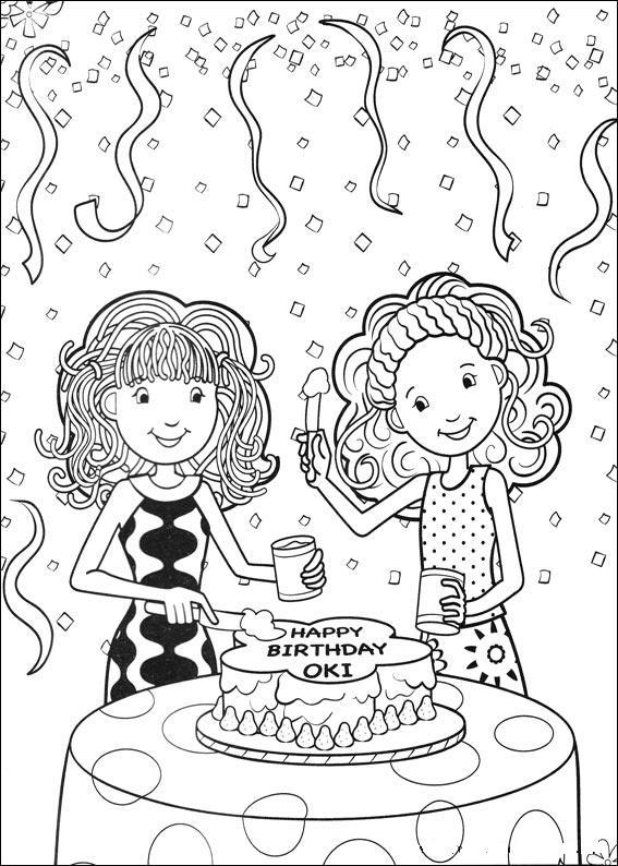 Kids N Fun 65 Kleurplaten Van Groovy Girls