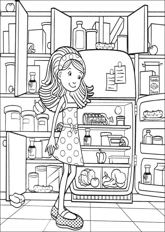groovy girls coloring pages - kids n fun kleurplaat groovy girls groovy girls