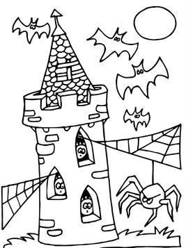 Kleurplaten Halloween.Kids N Fun 132 Kleurplaten Van Halloween