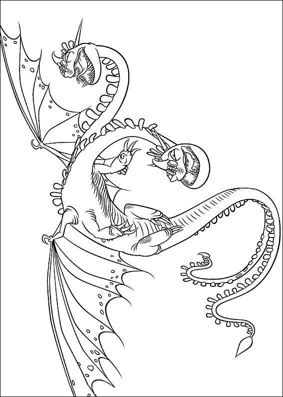 Kleurplaten Draken Berk.Kleurplaat How To Train Your Dragon Hoe Tem Je Een Draak Viewletter Co