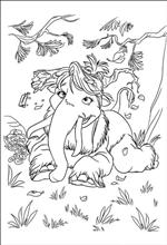 shira ice age source - Ice Age Characters Coloring Pages