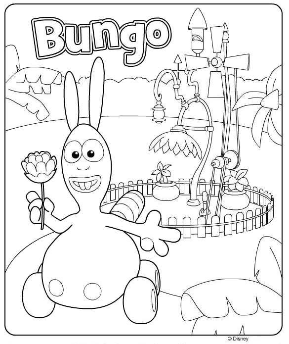 Kids N Fun Kleurplaat Jungle Junction Bungo