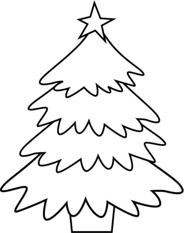 Kids N Fun 12 Kleurplaten Van Kerstbomen Om Zelf Te Versieren