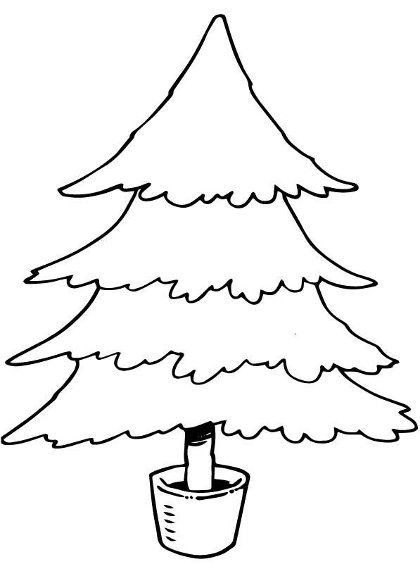 Cadeau Kleurplaat Kerst Kids N Fun 12 Kleurplaten Van Kerstbomen Om Zelf Te
