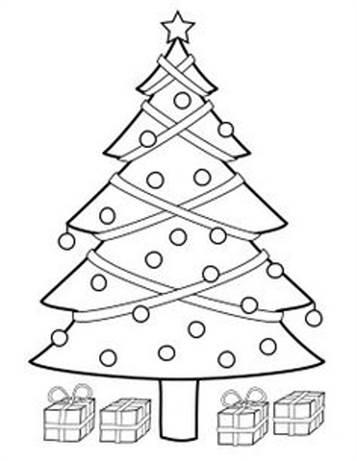 Kleurplaten Kerstboom Versieren.Kids N Fun 12 Kleurplaten Van Kerstbomen Om Zelf Te Versieren