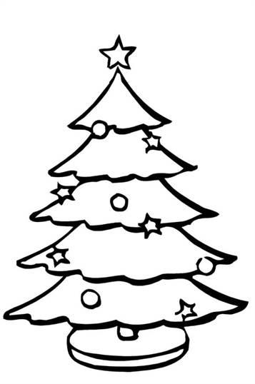 Grote Kleurplaten Kerstboom.Kids N Fun 12 Kleurplaten Van Kerstbomen Om Zelf Te Versieren