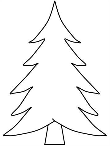 n 12 kleurplaten kerstbomen om zelf te
