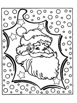 Kleurplaten Van Kerst En Nieuwjaar.Kids N Fun 85 Kleurplaten Van Kerstmis De Kerstman