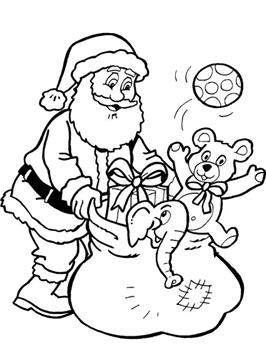 Leuke Kleurplaten Kerst.Kids N Fun 85 Kleurplaten Van Kerstmis De Kerstman