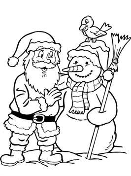 Kleurplaten Nieuwjaar En Kerstmis.Kids N Fun 85 Kleurplaten Van Kerstmis De Kerstman