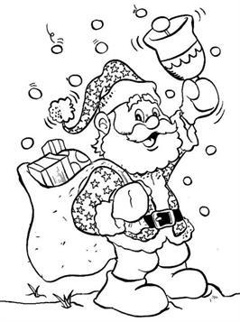 Kleurplaten Kerstmis.Kids N Fun 85 Kleurplaten Van Kerstmis De Kerstman