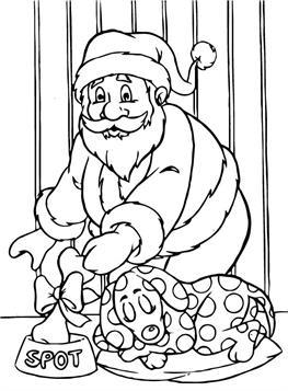 Kleurplaten Kerstman.Kids N Fun 85 Kleurplaten Van Kerstmis De Kerstman