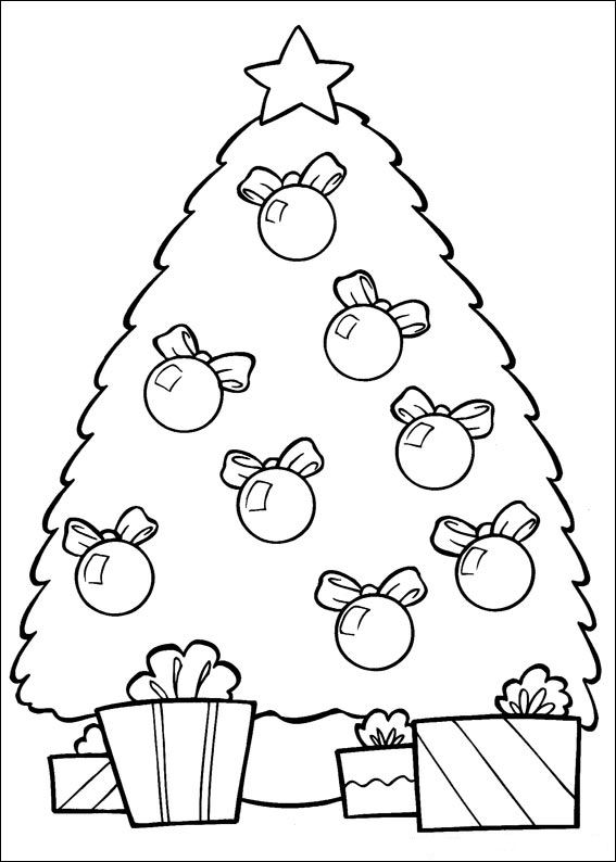 Kids N Fun 37 Kleurplaten Van Kerstmis Nog Meer