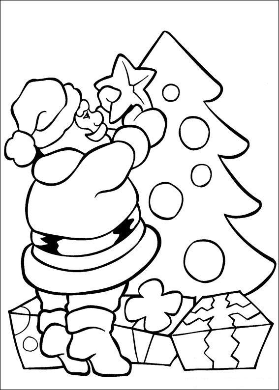Kids N Fun Kleurplaat Kerstmis Nog Meer Kerstmis