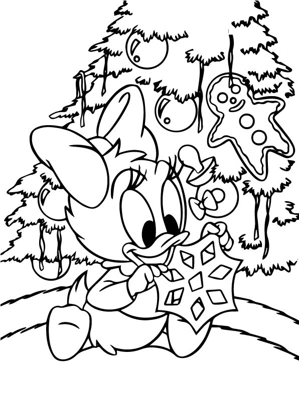 Kids N Fun 48 Kleurplaten Van Kerstmis Disney