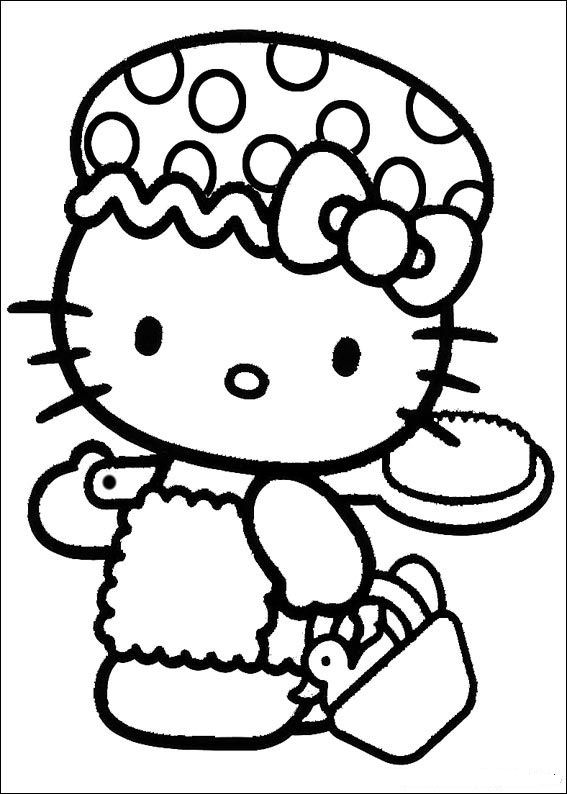 studio 100 kleurplaten hello kitty