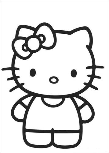 Kleurplaten Hello Kitty Halloween.Kids N Fun 54 Kleurplaten Van Hello Kitty