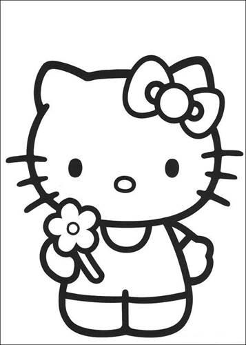 Kleurplaat Paard Kids N Fun 54 Kleurplaten Van Hello Kitty