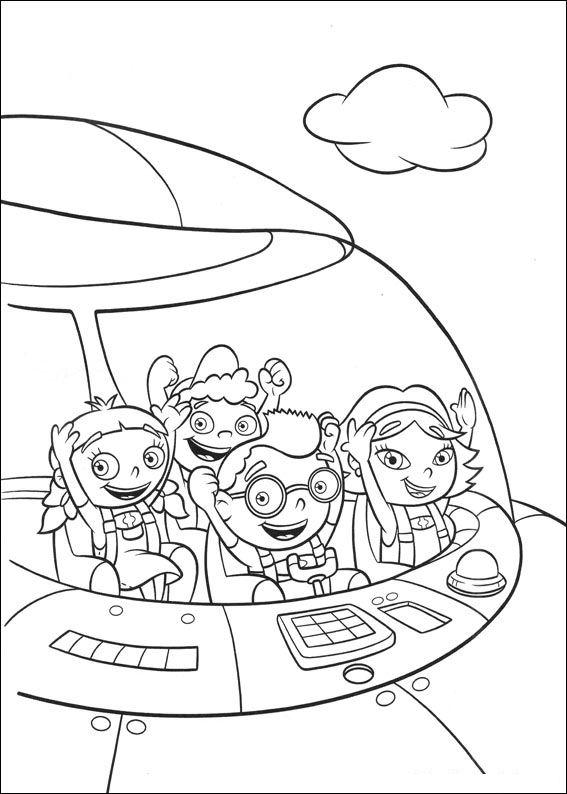 Kids N Fun 27 Kleurplaten Van Little Einsteins