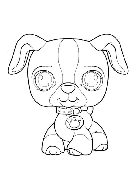 Welp Kids-n-fun   Kleurplaat Littlest Pet Shop (kleinste dierenwinkel RA-19